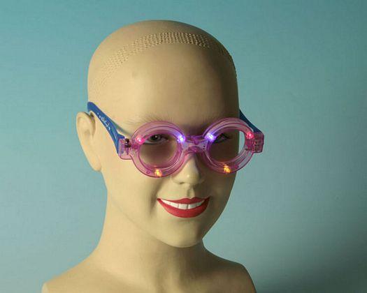 Gafas luz redondas