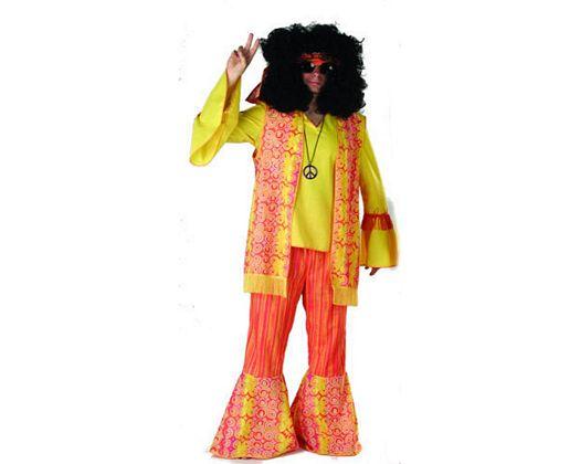 Disfraz de happy hippy Talla 2 (M-L)