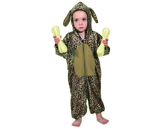 Disfraz de leopardo 5-6 años