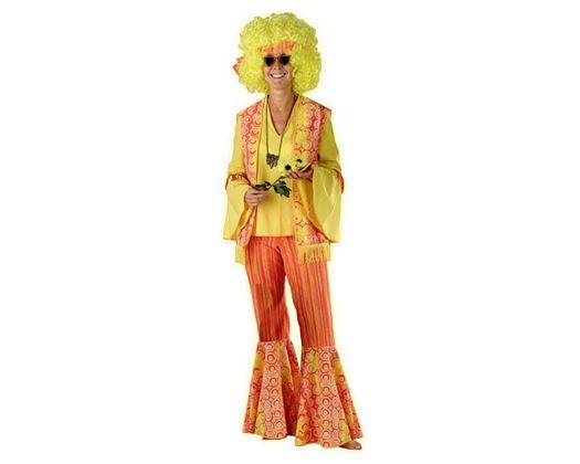 Disfraz de happy hippy mujer Talla 2 (M-L)