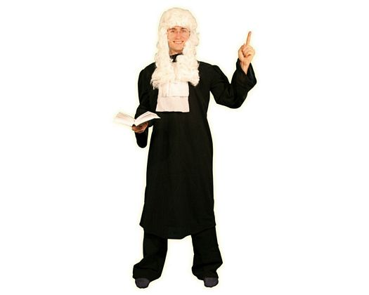 Disfraz de abogado, adulto