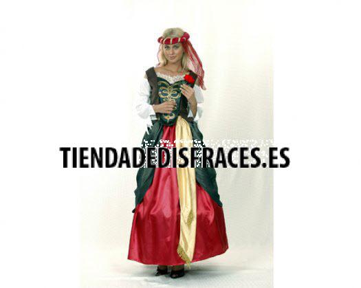 Disfraz de Mujer del Renacimiento
