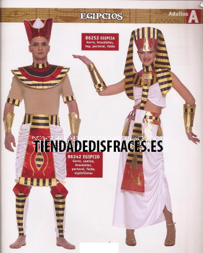 Disfraz de Princesa Egipcia