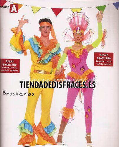 Disfraz de Brasileño