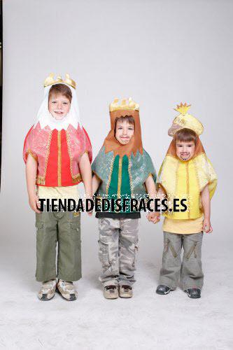 Petos de Reyes Magos infantiles