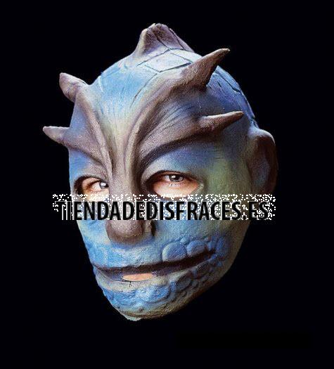 Máscara de lagarto de V