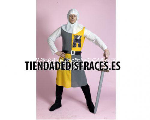 Disfraz de Caballero Medieval 3 económico