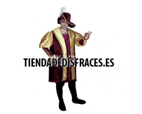 Disfraz de Príncipe Gótico