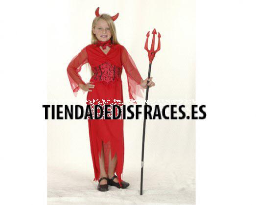 Disfraz de Diablesa 7-9 años