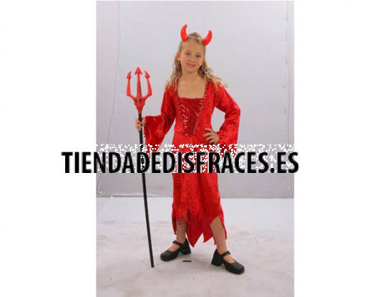 Disfraz de Demonio rojo 10-12 años