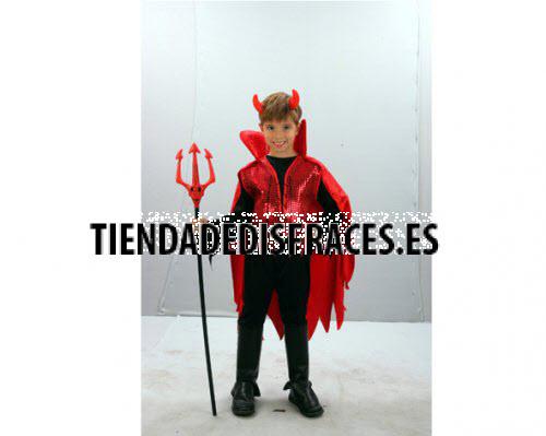 Disfraz de Demonio rojo niño 4-6 años