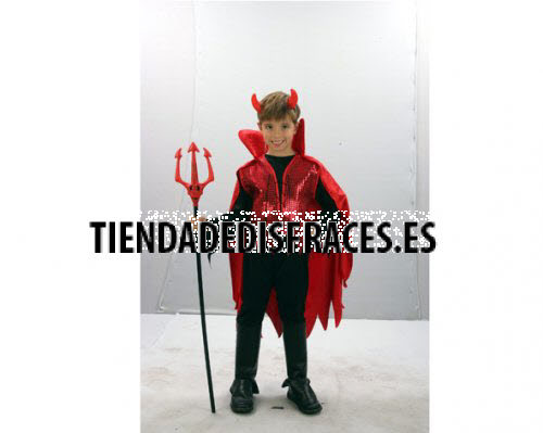 Disfraz de Demonio rojo niño 10-12 años