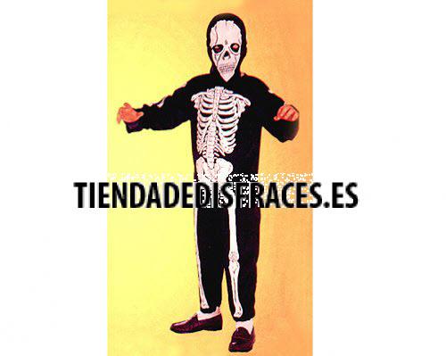 Disfraz de Esqueleto 4-6 años
