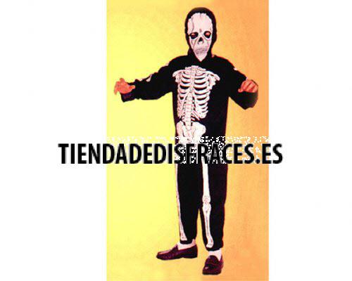 Disfraz de Esqueleto 10-12 años