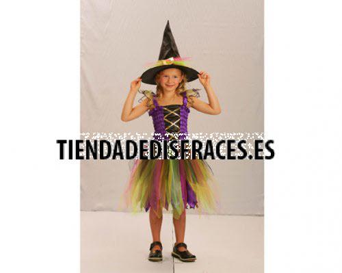 Disfraz de Hechicera Arco Iris 2-4 años