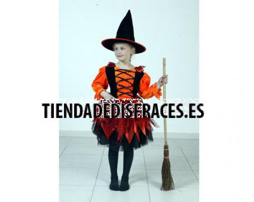 Disfraz de Bruja de 7-9 años