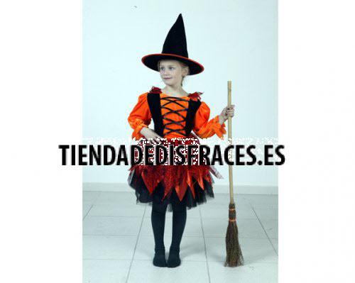 Disfraz de Bruja de 2-4 años