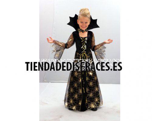 Disfraz de Dama Arácnida 7-9 años