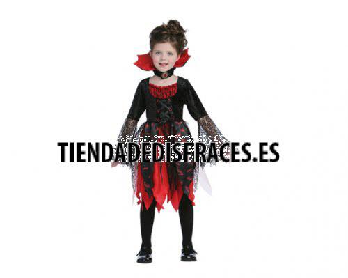 Disfraz de Princesa de medianoche 4-6 años