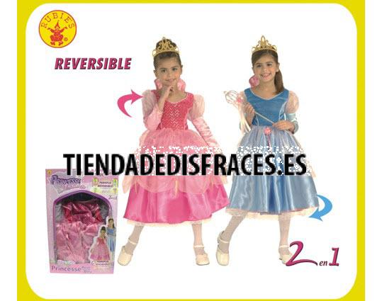 Disfraz de princesa encantada Disney talla 5 a 7 años