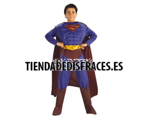 Disfraz de Superman musculoso 9 a 12 años