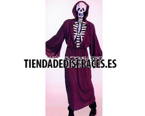 Disfraz de Esqueleto hombre adulto
