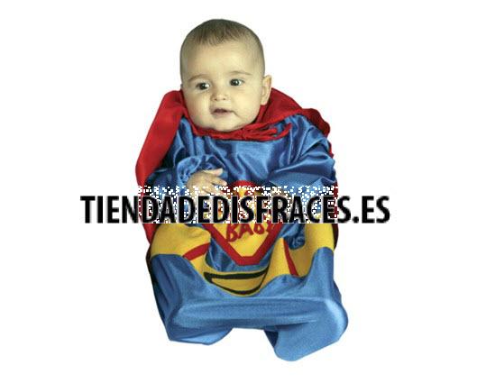 Disfraz de Super Bebe 0-6 Meses