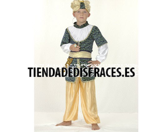 Disfraz de  Sultan 4-6 Años