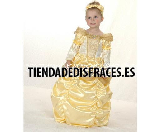 Disfraces de  Princesa Bella 2-4 Años
