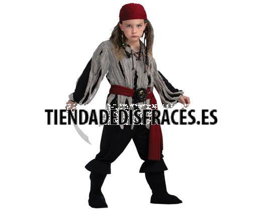 Disfraz de Pirata 4-6 Años