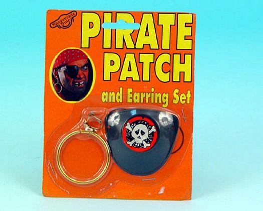 Parche y pendiente de pirata