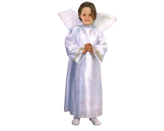 Disfraz de angel niñoas Talla 3 (7 – 9 años)