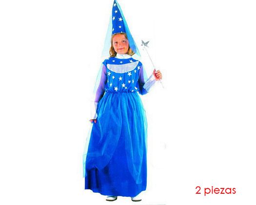 Disfraz de bruja buena niÑas 7-9 aÑos