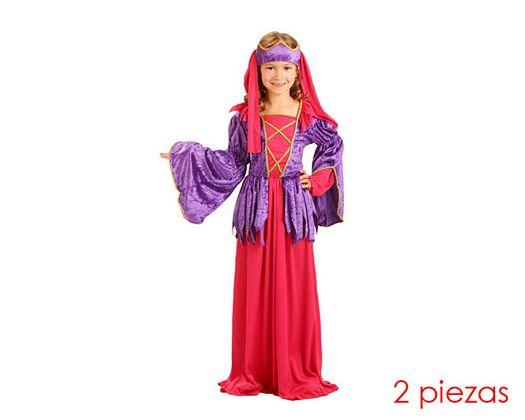Disfraz de princesa gotica 10-12 años