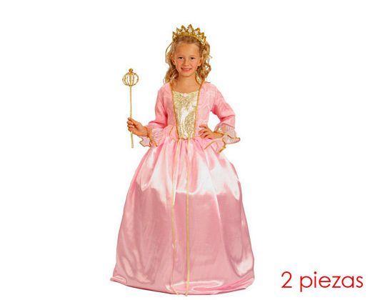 Disfraz de princesa 5-6 años