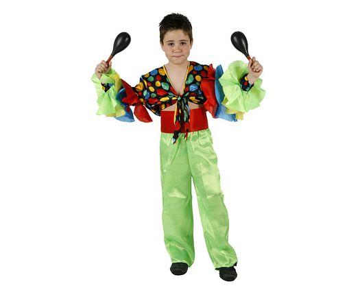 Disfraz de rumbero Talla 4 (10 – 12 años)