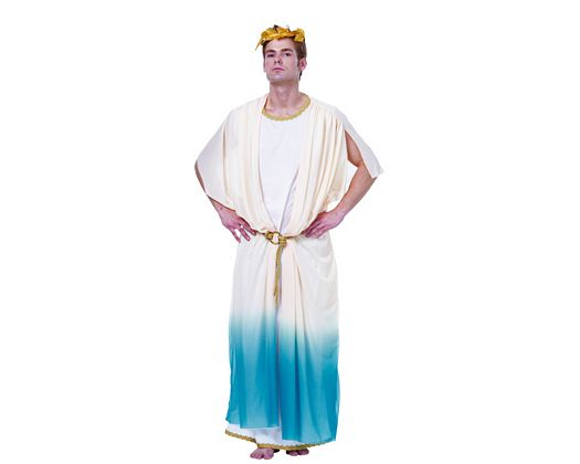 Disfraz de dios griego, hombre