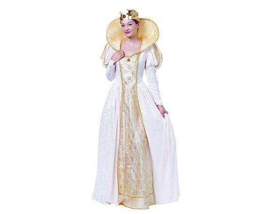 Disfraz de reina isabel mujer