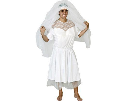 Disfraz de novia adulto Talla 2 (M-L)