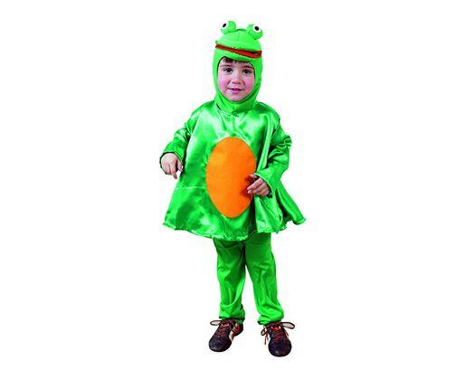 Disfraz infantil diseño rana 3-4 años