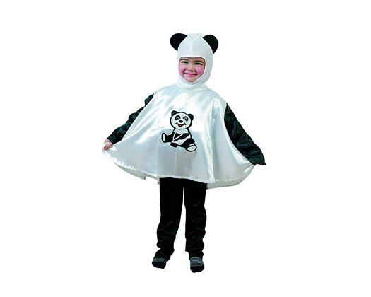 Disfraz infantil diseño oso panda