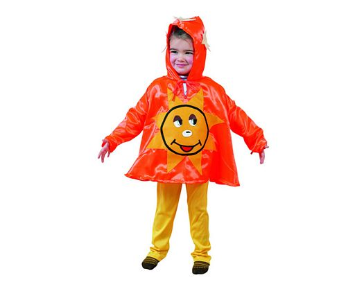 Disfraz de infantil diseÑo sol