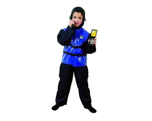 Disfraz de niño policia de asalto Talla 3 (7 – 9 años) año