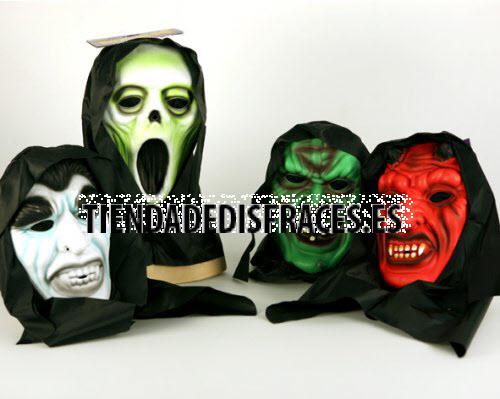 Máscaras eva Halloween con capucha