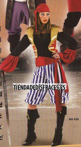 Disfraz de Pirata Saqueadora
