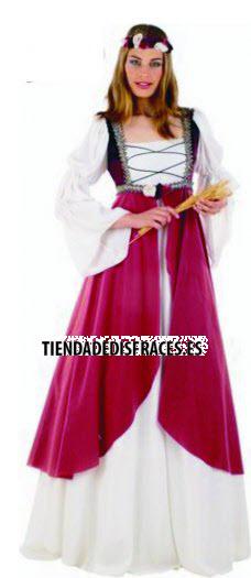 Disfraz de Clarisa Medieval deluxe