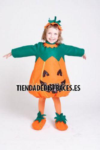 Disfraz de Calabaza infantil talla 0 - 3 años
