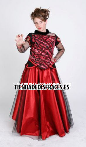 Disfraz de Vampiresa infantil, 3-5 años, talla 1