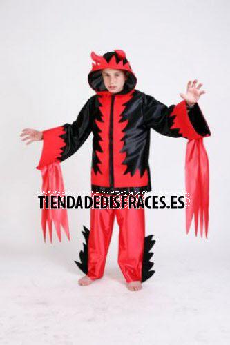 Disfraz de Demonio infantil talla 3-5 años.
