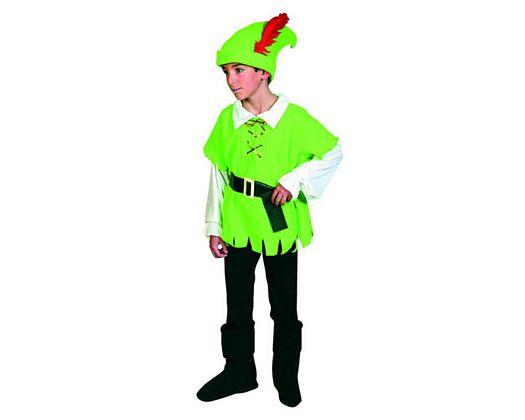 Disfraz de arquero de los bosques Talla 4 (10 – 12 años)